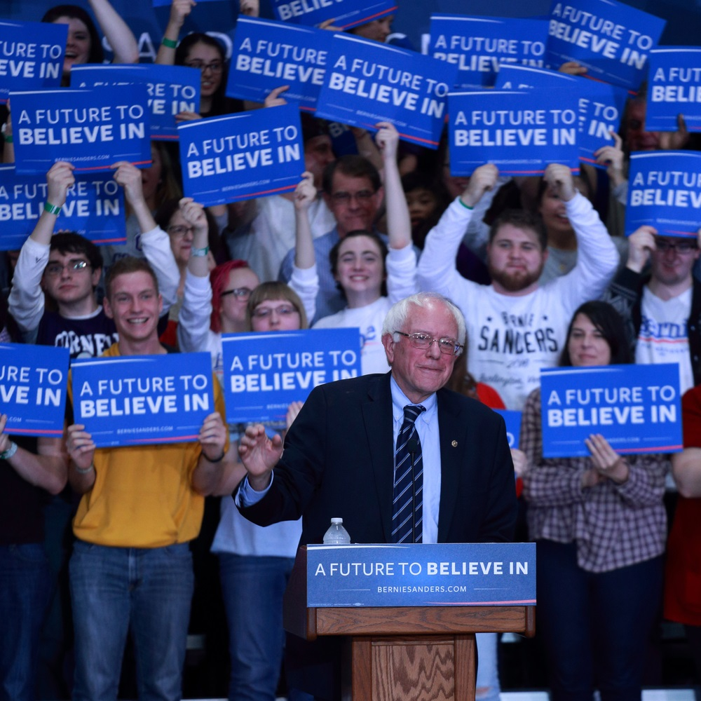 Bernie Sanders Didn't Make it - Alvexo