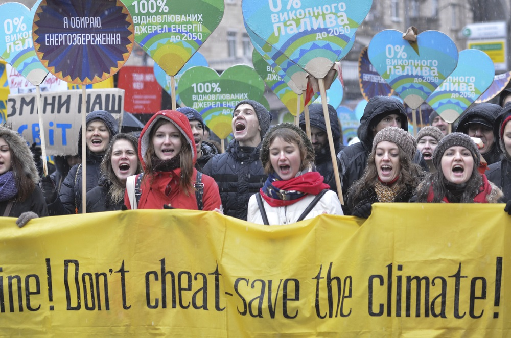 Climate Change March - Alvexo