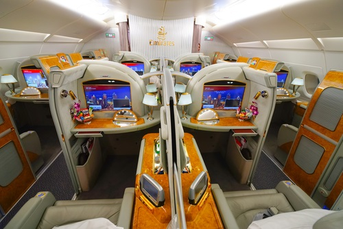 luxury accomodations for U.A.E airline