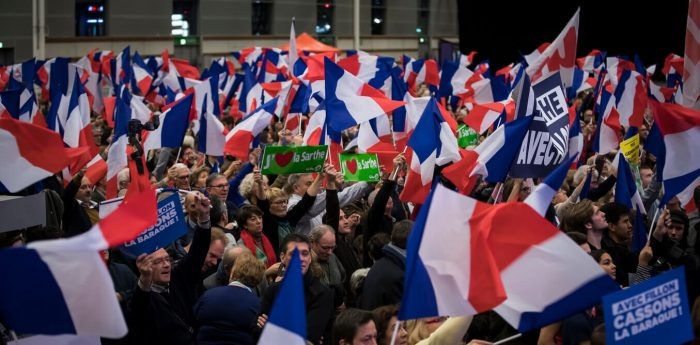 First Set of French Elections - présidentielle
