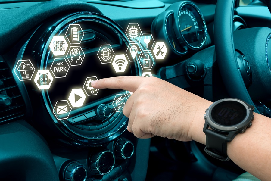 Haptic Technology in a car