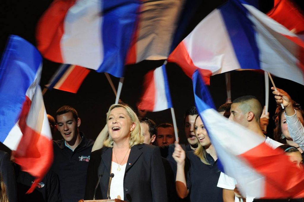 Le Pen Goes Head to Head in Presidental Race