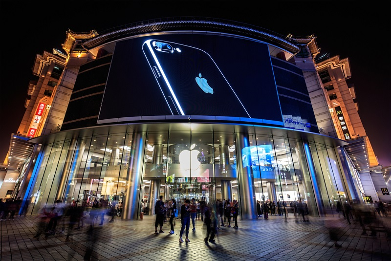Apple Store and iPhone history