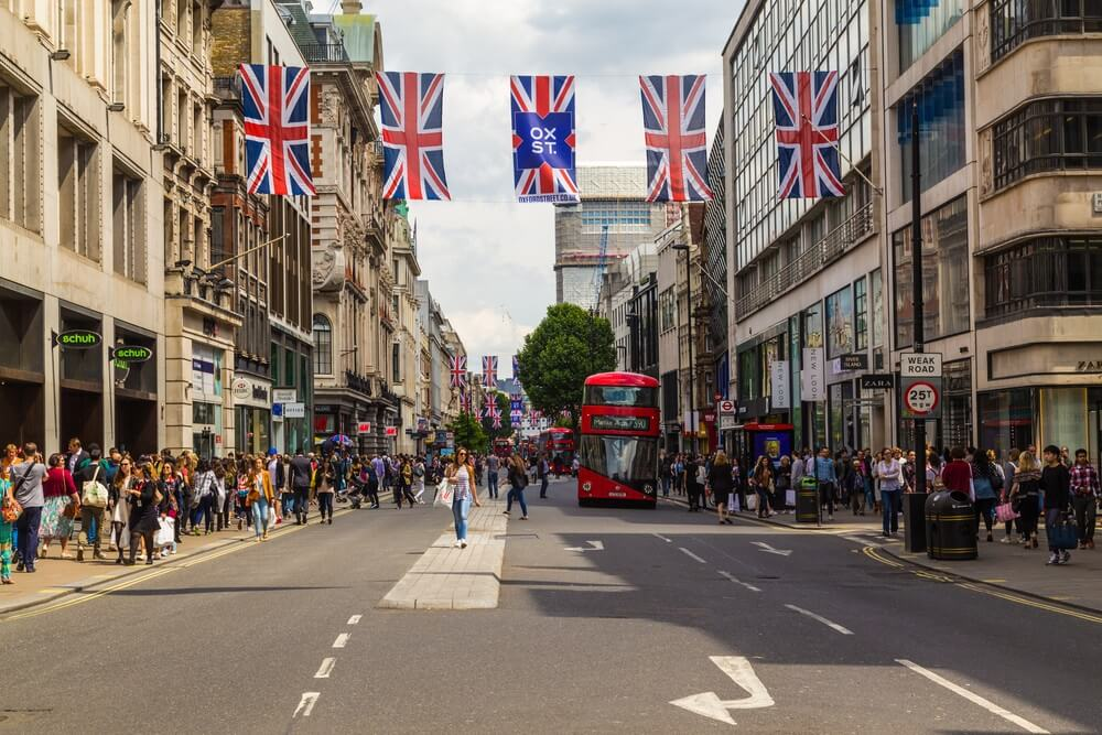 London and oxford street