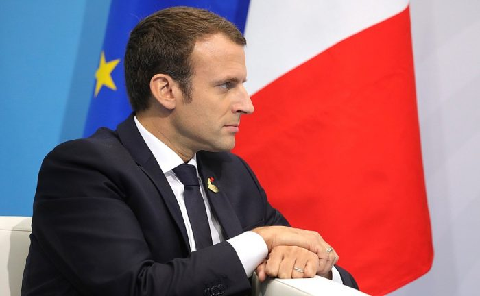 Macron and the military