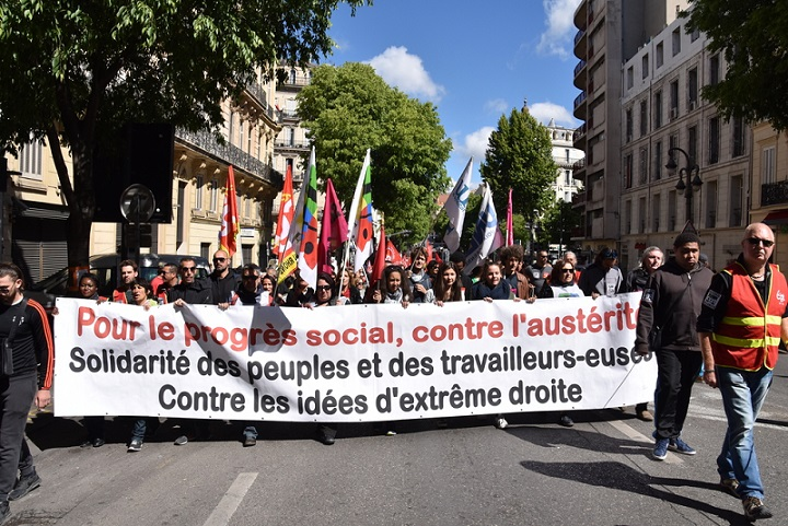 March for rights in France