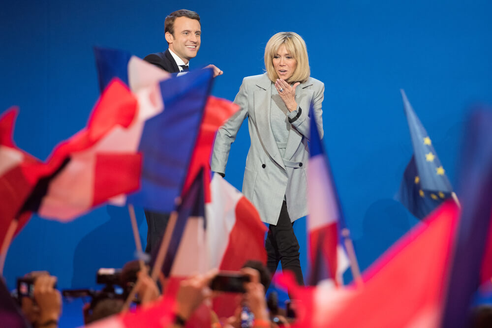 Brigitte Macron for first lady of France
