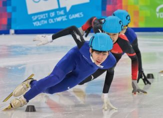 Olympic winter games 1000m short track