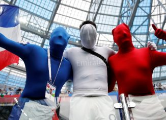Coupe du monde: Des supporters de léquipe de France de football