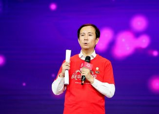 Daniel Zhang, Chief Executive Officer of Alibaba Group delivers a speech during Alibaba Group's 11.11 Singles' Day global shopping festival (REUTERS/Aly Song)