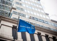 The Deutsche Bank headquarters on Wall Street